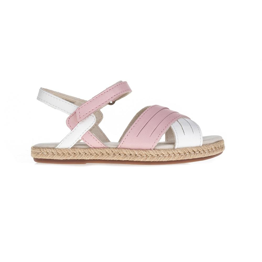 UGG – Βρεφικά σανδάλια Addilyn λευκά-ροζ