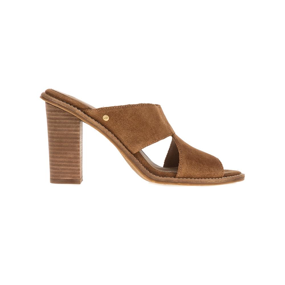 UGG - Γυναικεία πέδιλα UGG Celia καφέ γυναικεία παπούτσια πέδιλα