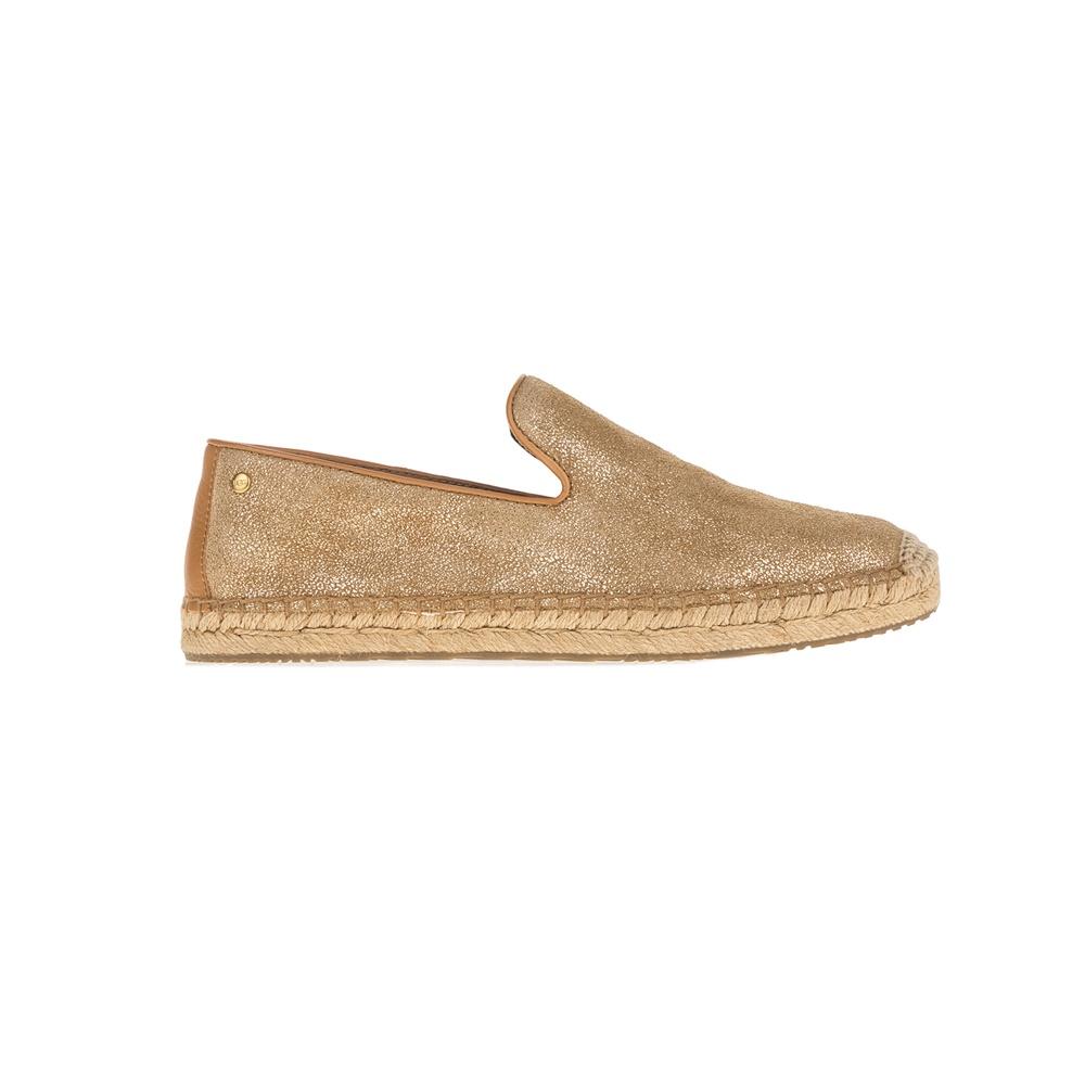 UGG - Γυναικεία slip-on παπούτσια UGG Sandrinne II χρυσά