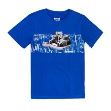 CONVERSE-Κοντομάνικη μπλούζα CONVERSE μπλε