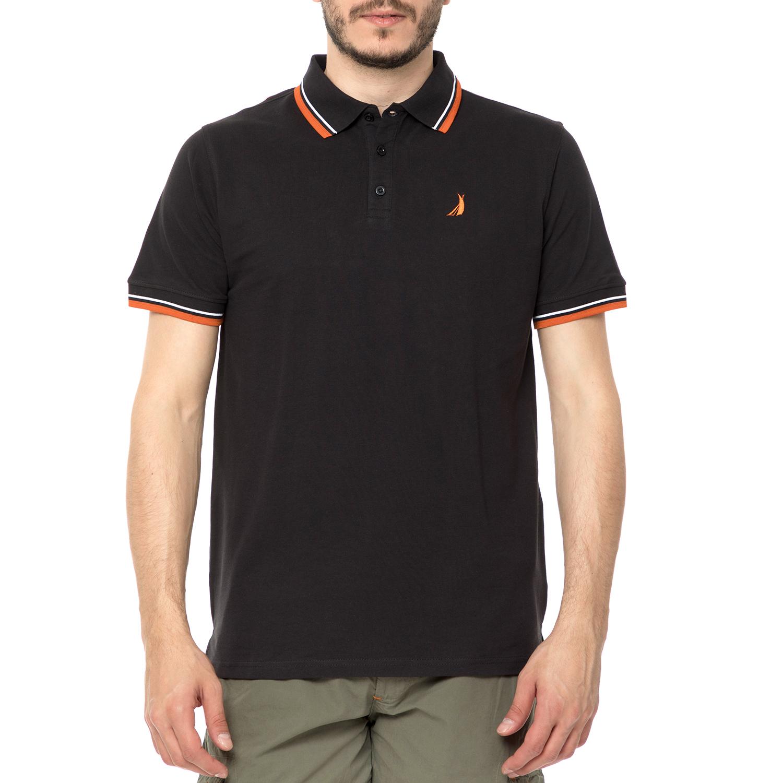 25ff7cd754b2 CATAMARAN SAILWEAR – Ανδρική πόλο μπλούζα CATAMARAN SAILWEAR μαύρη  1518387.0-0102