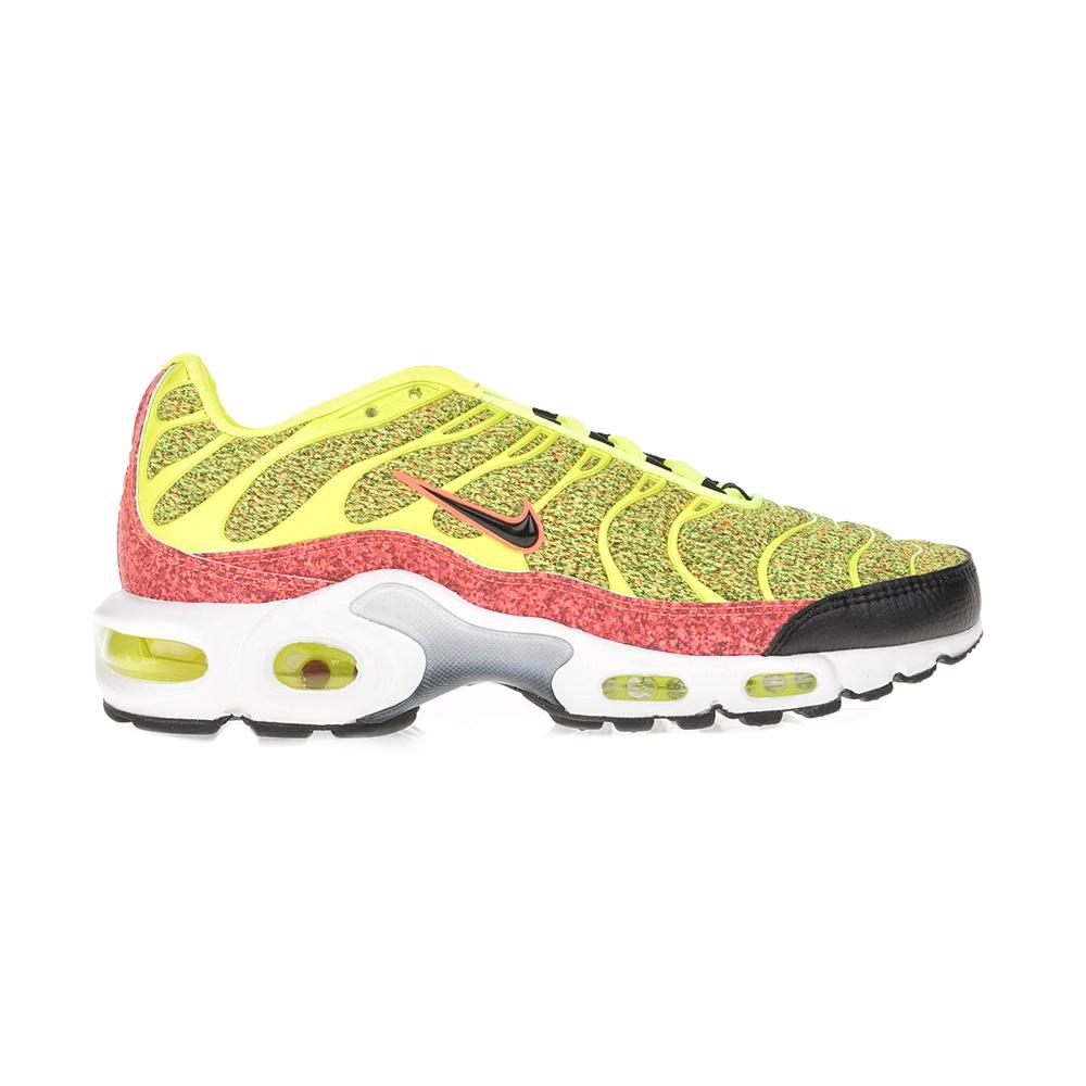 NIKE - Γυναικεία ανδρικά παπούτσια ΝΙΚΕ AIR MAX PLUS SE κίτρινα-μαύρα γυναικεία παπούτσια αθλητικά running