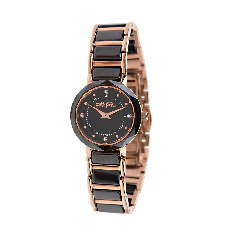 FOLLI FOLLIE – Γυναικείο ρολόι Folli Follie μαύρο c35c41f0193