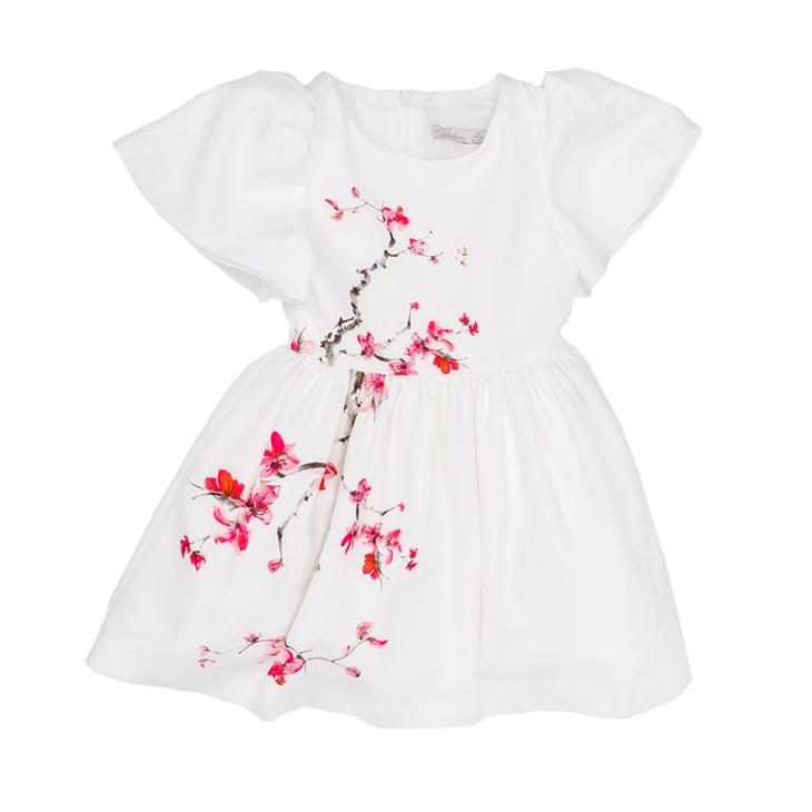 Παιδικό φόρεμα PATACHOU άσπρο (1519220)  992c33bbe6c