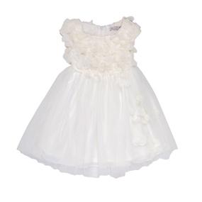 PATACHOU. Παιδικό φόρεμα PATACHOU άσπρο 9af1a6a03a3
