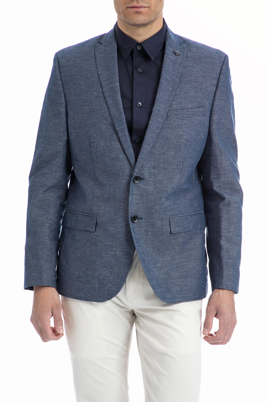 BEN SHERMAN - Ανδρικό σακάκι Ben Sherman μπλε ανδρικά ρούχα πανωφόρια σακάκια