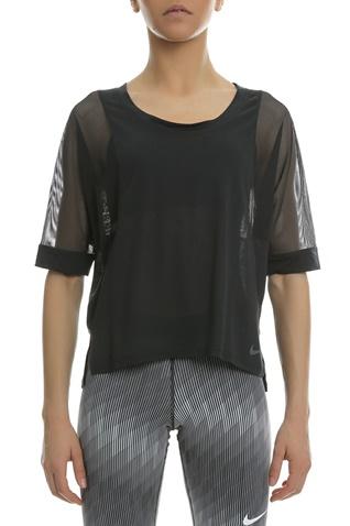 Γυναικεία κοντομάνικη μπλούζα Nike μαύρη (1520013.1-7173)  45c57ca123e