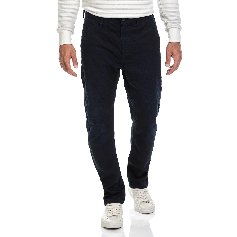 G-STAR - Ανδρικό παντελόνι Bristum tapered chino G-STAR RAW μπλε ανδρικά ρούχα παντελόνια chinos