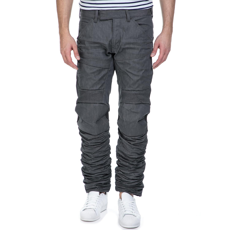 G-STAR RAW - Ανδρικό παντελόνι G-Star Raw 5620 Motion 3D Tapered γκρι ανδρικά ρούχα τζίν straight