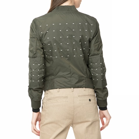 Γυναικείο jacket Rackam MS slim bomber χακί - G-STAR RAW ...