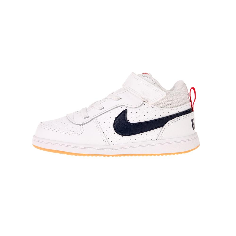 NIKE – Βρεφικά sneakers NIKE COURT BOROUGH MID (TDV) λευκά