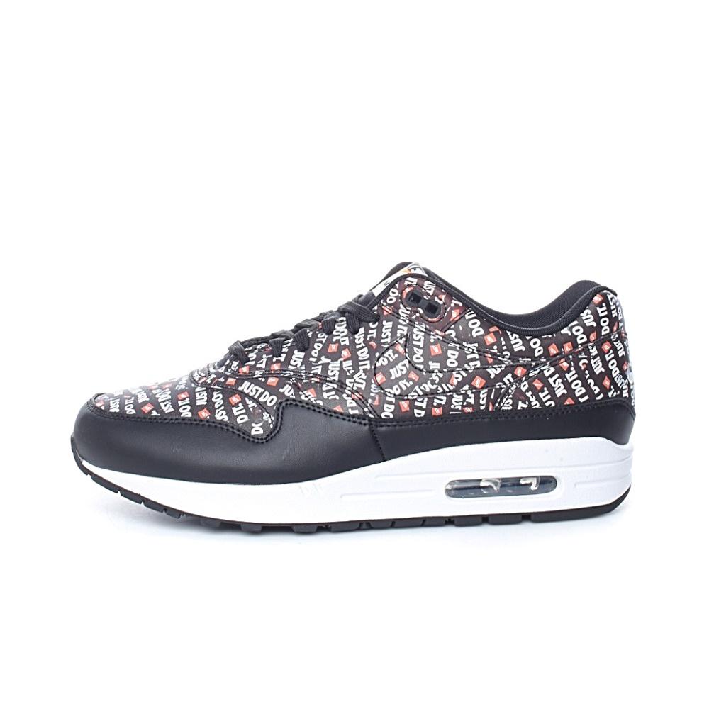 NIKE – Ανδρικά παπούτσια NIKE AIR MAX 1 PREMIUM μαύρα με print