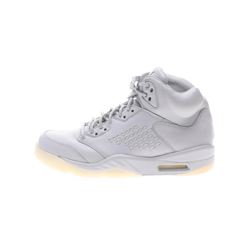 NIKE – Ανδρικά παπούτσια μπάσκετ NIKE AIR JORDAN 5 RETRO PREM λευκά