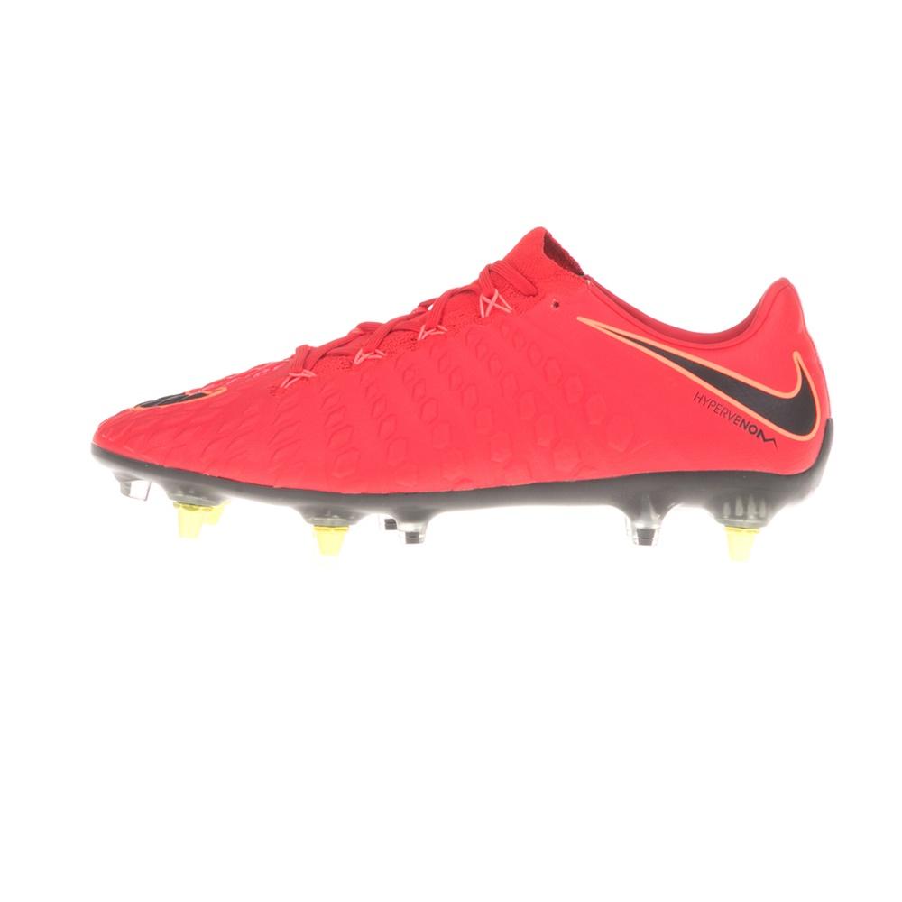NIKE – Ανδρικά παπούτσια ποδοσφαίρου HYPERVENOM PHANTOM 3 SGPRO AC κόκκινα