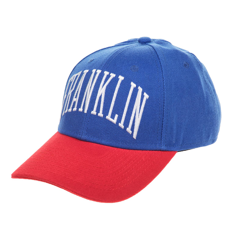 FRANKLIN & MARSHALL – Unisex καπέλο Franklin & Marshall μπλε – κόκκινο