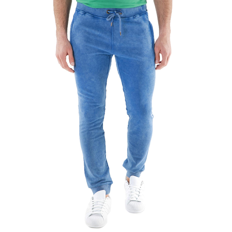 FRANKLIN & MARSHALL – Ανδρικό παντελόνι φόρμας FRANKLIN & MARSHALL μπλε