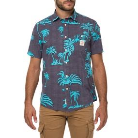 FRANKLIN   MARSHALL. Ανδρικό κοντομάνικο πουκάμισο ... 74785fb3e82