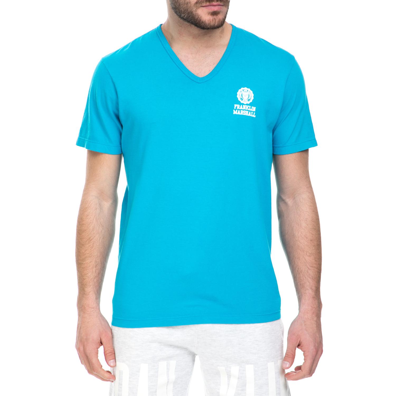 4d96dfca7a8a FRANKLIN   MARSHALL – Ανδρικό T-shirt Franklin   Marshall γαλάζιο ...