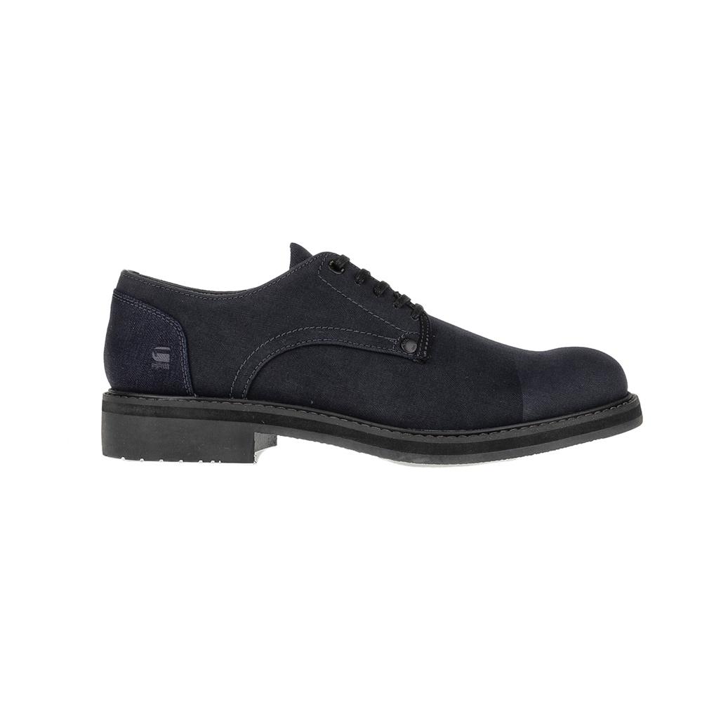 G-STAR RAW - Ανδρικά δετά παπούτσια G-STAR CORE DENIM μπλε ανδρικά παπούτσια δετά επίσημα