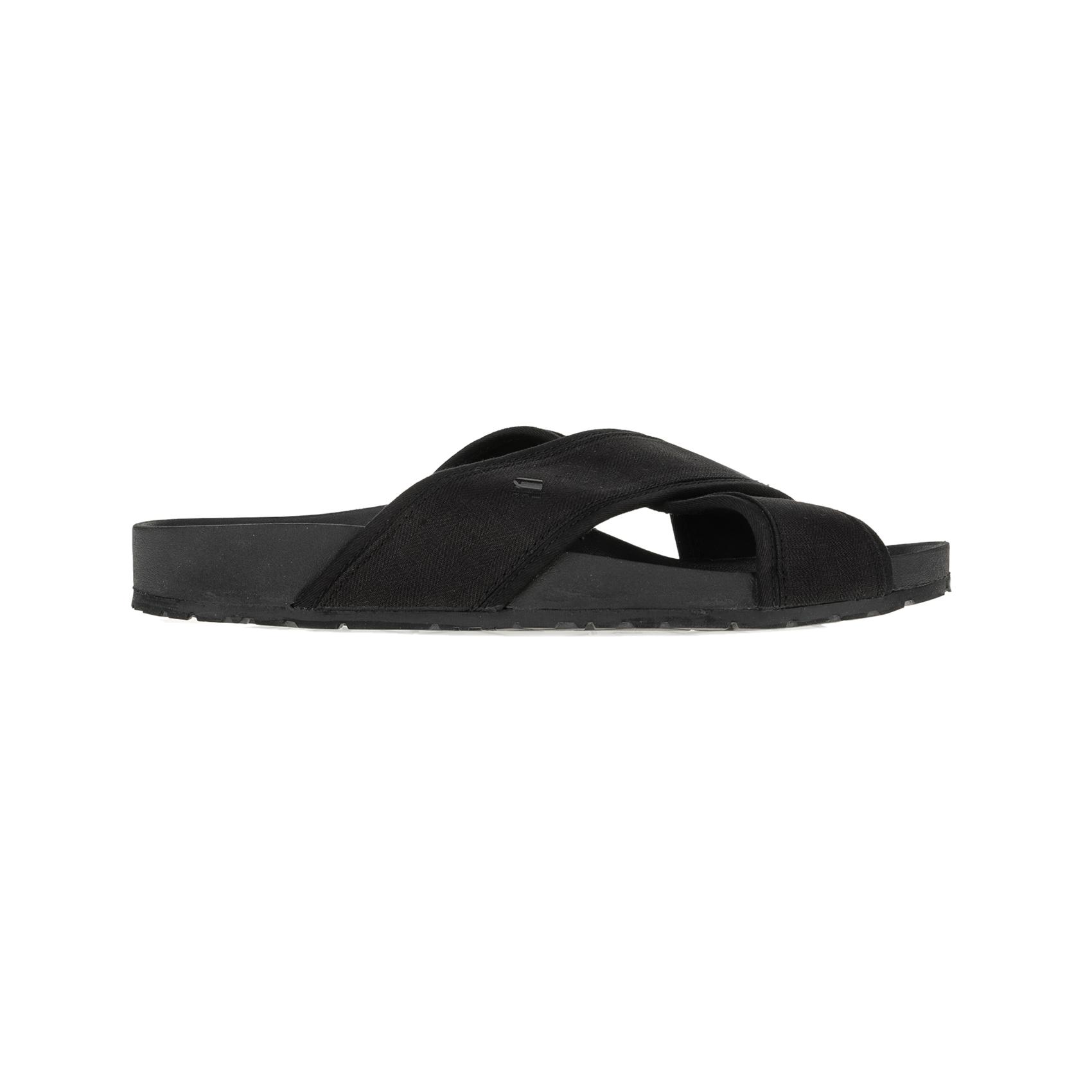 G-STAR RAW - Ανδρικές παντόφλες G-STAR NETROL STRAP μαύρες ανδρικά παπούτσια παντόφλες