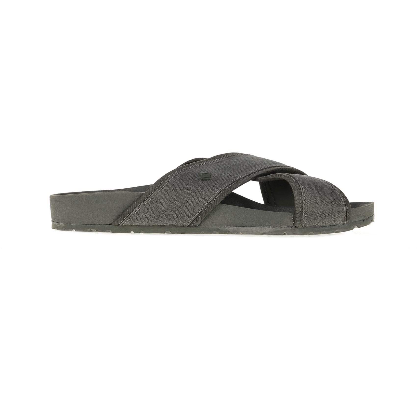 G-STAR RAW - Ανδρικές παντόφλες G-STAR NETROL STRAP χακί ανδρικά παπούτσια παντόφλες