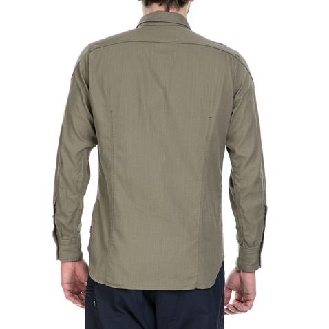 943aa0ff7bcc Ανδρικό μακρυμάνικο πουκάμισο G-Star Raw Arc 3D χακί (1521716.0-x2x1 ...