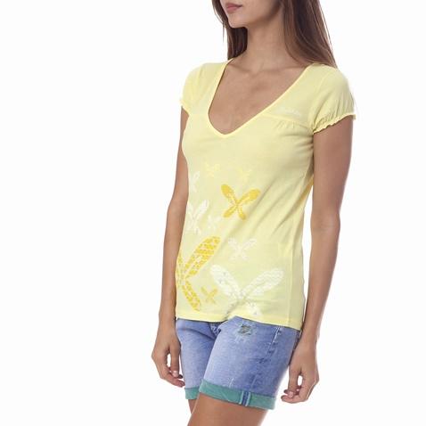 8915711d95db Γυναικεία μπλούζα Gambling κίτρινη (1521731.0-0053)