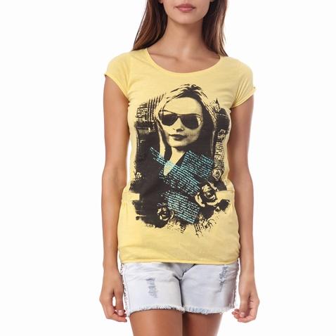 a37c1044462c Γυναικεία μπλούζα Gambling κίτρινη (1521732.0-0053)
