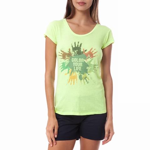d19c598425e3 Γυναικεία μπλούζα Gambling κίτρινη-πράσινη (1521735.0-0053 ...