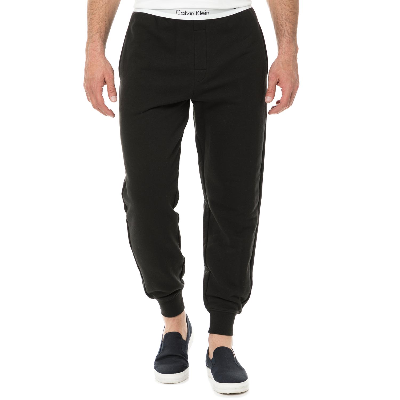 CK UNDERWEAR - Ανδρικό παντελόνι πιτζάμας JOGGER CK UNDERWEAR μαύρο ανδρικά ρούχα εσώρουχα πυτζάμες ρόμπες