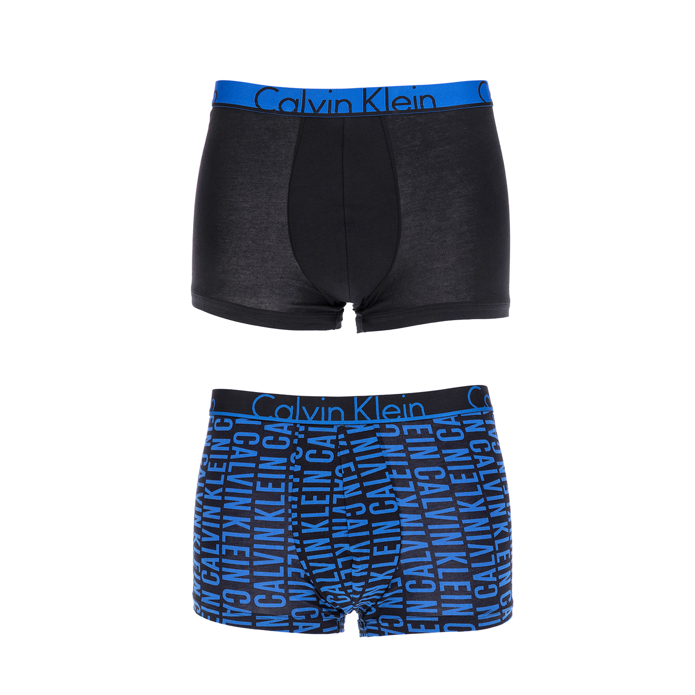 CK UNDERWEAR - Ανδρικό σετ μπόξερ Calvin Klein μπλε-μαύρο ανδρικά ρούχα εσώρουχα μπόξερ