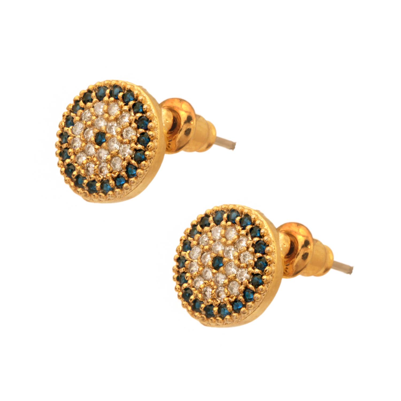 JEWELTUDE - Γυναικεία επίχρυσα σκουλαρίκια Jeweltude γυναικεία αξεσουάρ κοσμήματα σκουλαρίκια