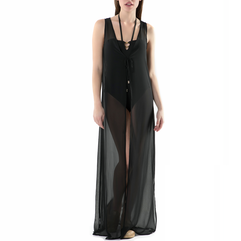CK UNDERWEAR - Beachwear CK Underwear μαύρο γυναικεία ρούχα φορέματα μάξι