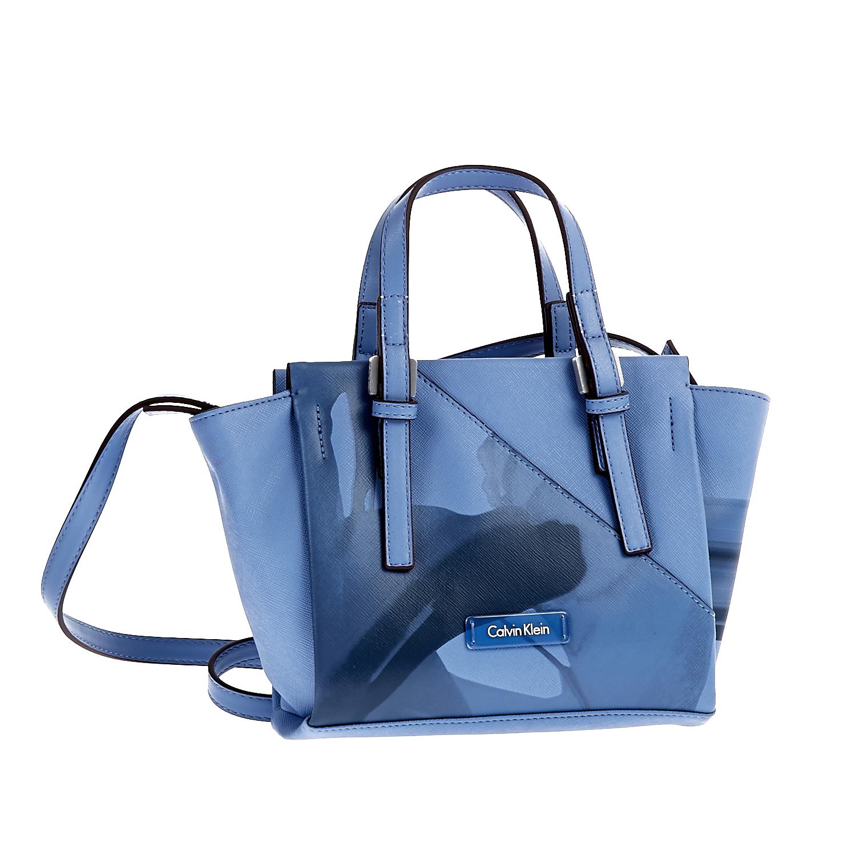 CALVIN KLEIN JEANS - Τσάντα Calvin Klein Jeans μπλε γυναικεία αξεσουάρ τσάντες σακίδια χειρός