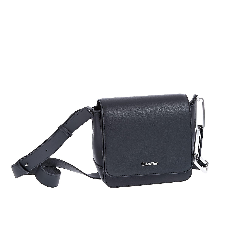 CALVIN KLEIN JEANS - Τσάντα Calvin Klein Jeans μαύρη γυναικεία αξεσουάρ τσάντες σακίδια ωμου