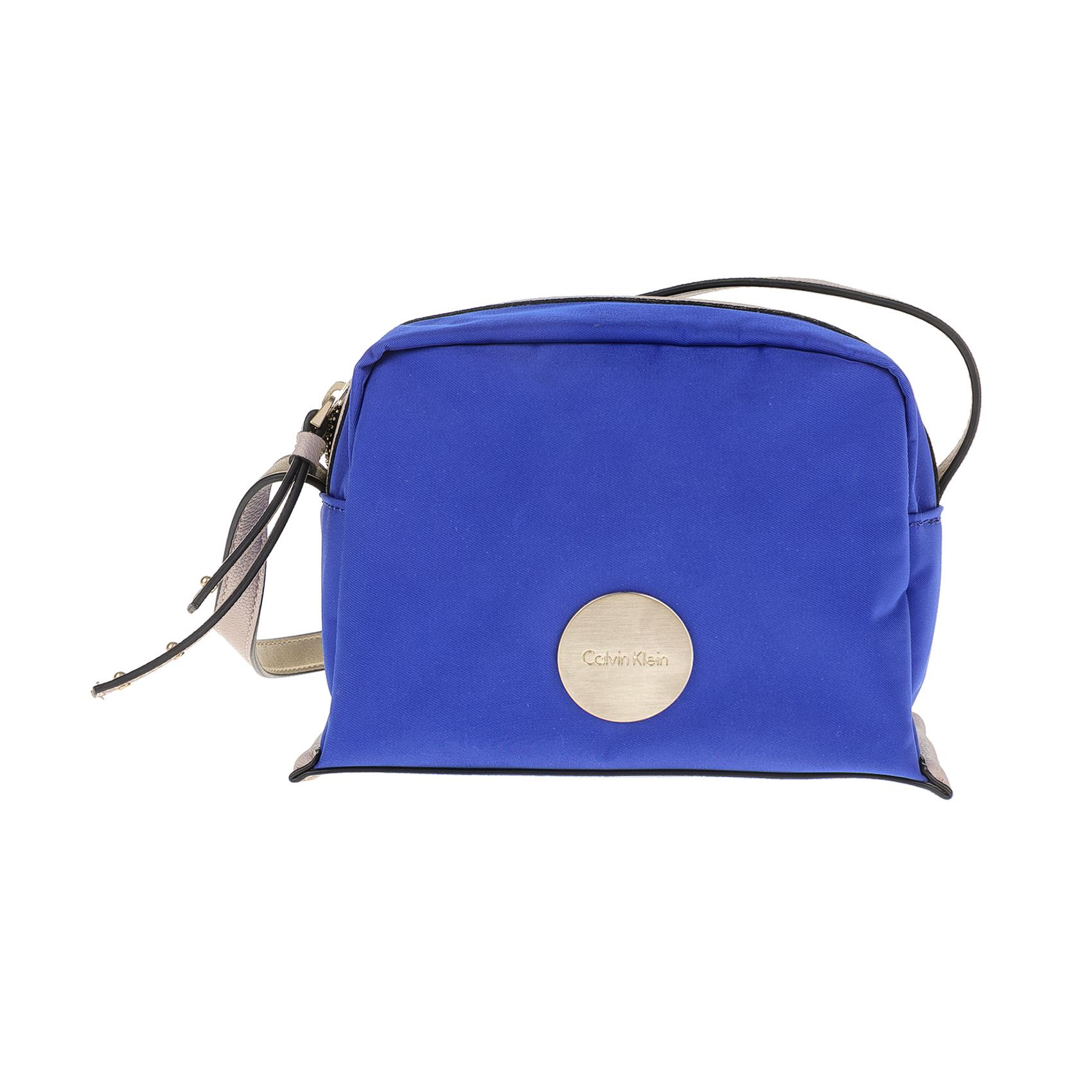 CALVIN KLEIN JEANS - Γυναικεία τσάντα CALVIN KLEIN JEANS EDITH SMALL μπλε γυναικεία αξεσουάρ τσάντες σακίδια χιαστή   cross body