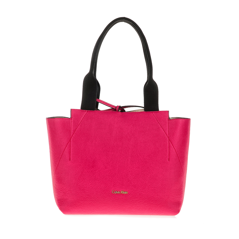 CALVIN KLEIN JEANS - Γυναικεία τσάντα CALVIN KLEIN JEANS ροζ-χρυσή γυναικεία αξεσουάρ τσάντες σακίδια χειρός
