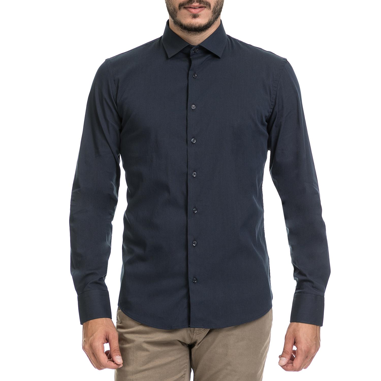 SSEINSE – Αντρικό πουκάμισο SSEINSE μπλε