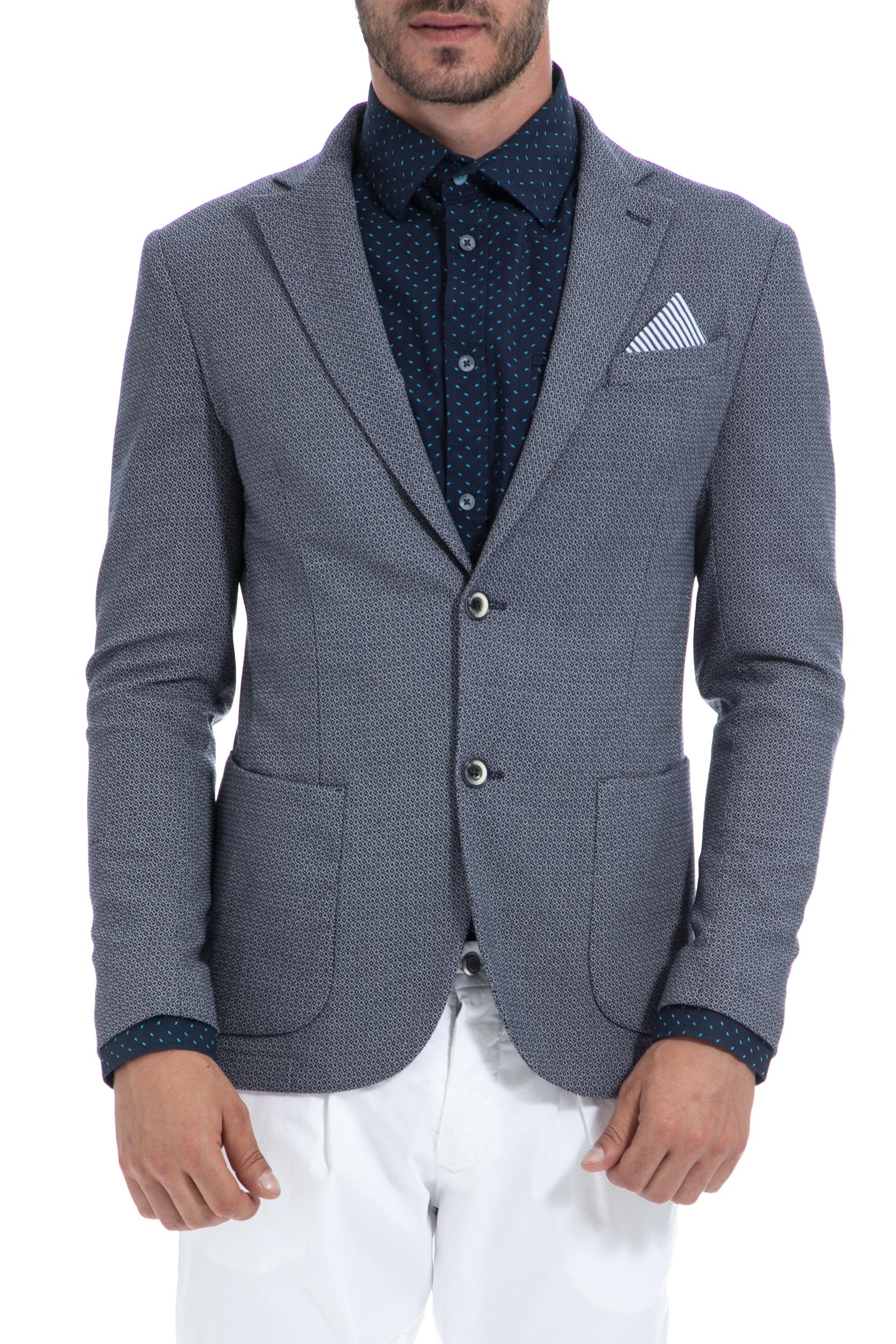 SSEINSE - Ανδρικό σακάκι SSEINSE γκρι ανδρικά ρούχα πανωφόρια σακάκια