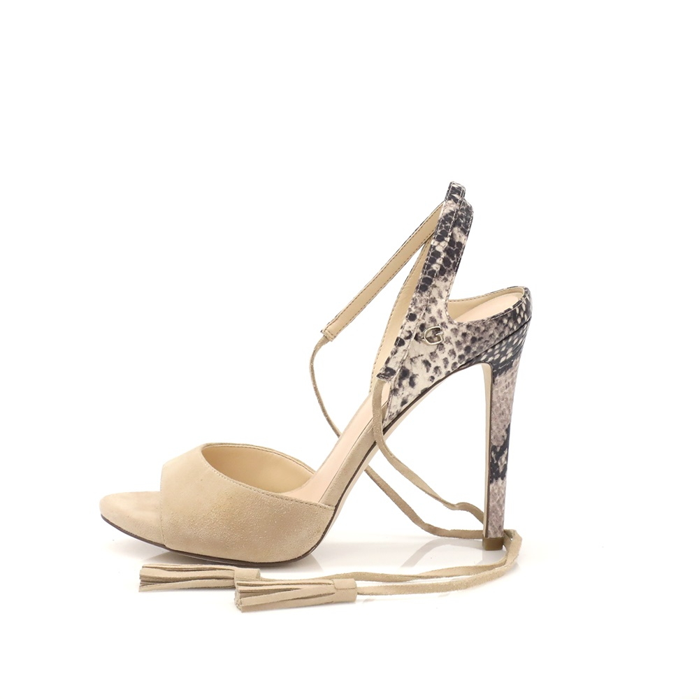 7de35034d78 GUESS - Γυναικεία πέδιλα Guess μπεζ ⋆ EliteShoes.gr