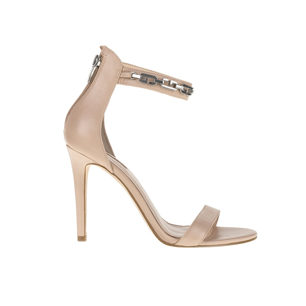 GUESS - Γυναικεία πέδιλα GUESS μπεζ ⋆ EliteShoes.gr 3b36c3c8a04