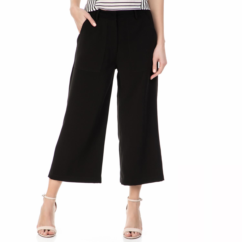 CALVIN KLEIN JEANS - Culotte CALVIN KLEIN KAKIS μαύρη γυναικεία ρούχα παντελόνια cropped