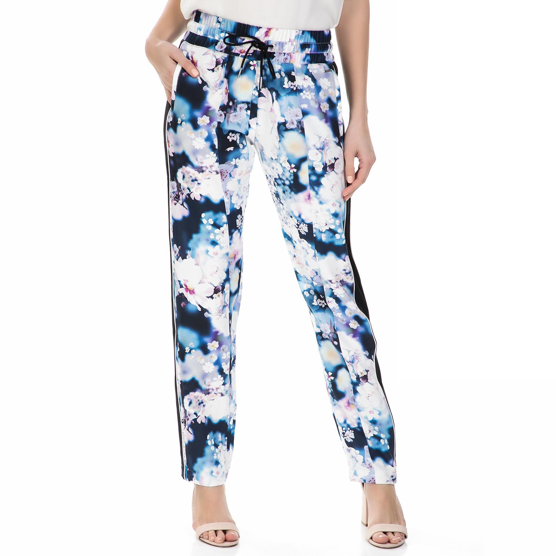 CALVIN KLEIN JEANS - Γυναικείο παντελόνι Calvin Klein Jeans φλοράλ γυναικεία ρούχα παντελόνια παντελόνες