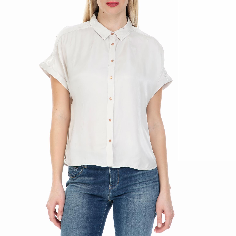 41d10701275b CALVIN KLEIN JEANS - Γυναικείο πουκάμισο Calvin Klein Jeans εκρού
