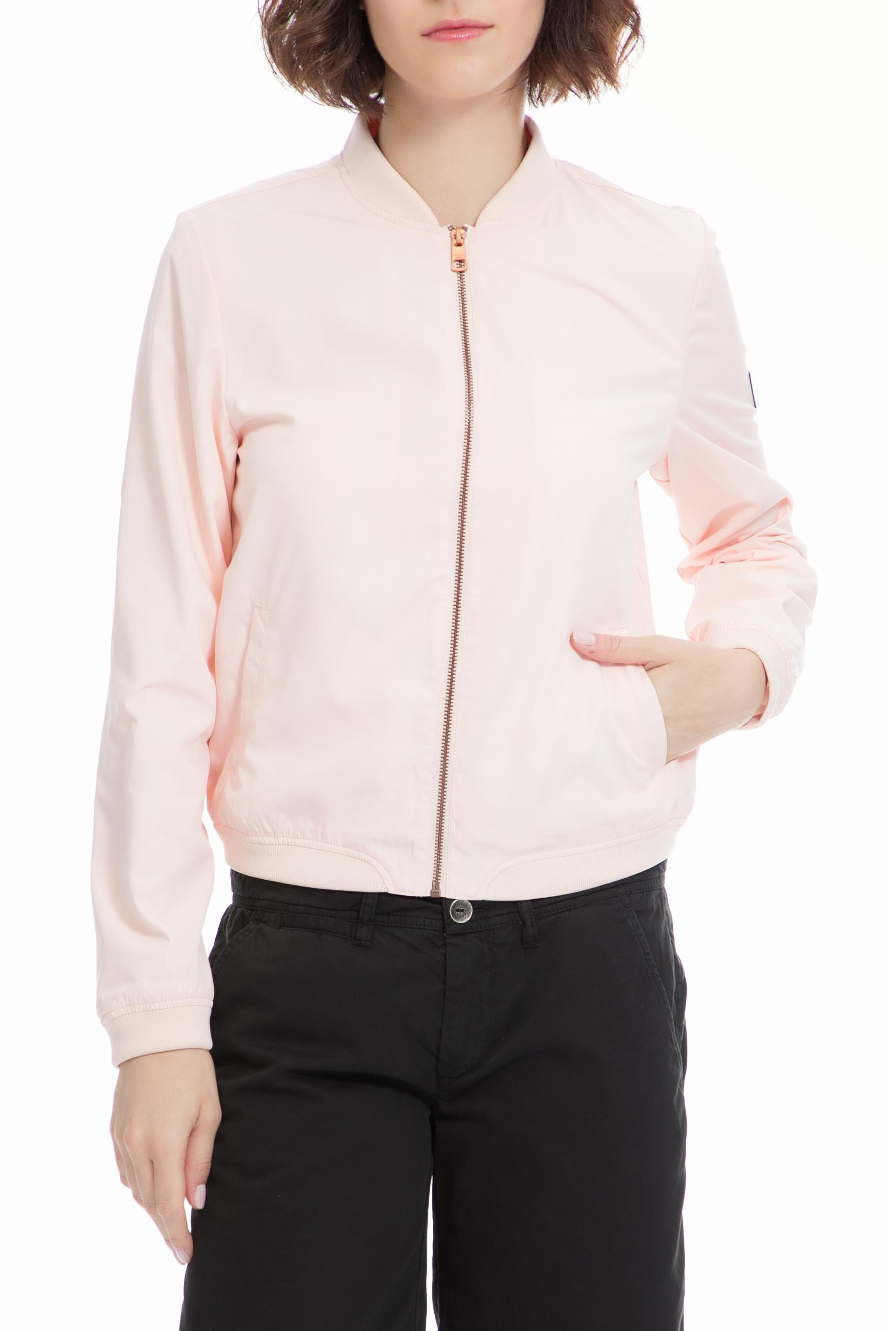 CALVIN KLEIN JEANS - Γυναικείο μπουφάν CALVIN KLEIN JEANS ροζ γυναικεία ρούχα πανωφόρια μπουφάν