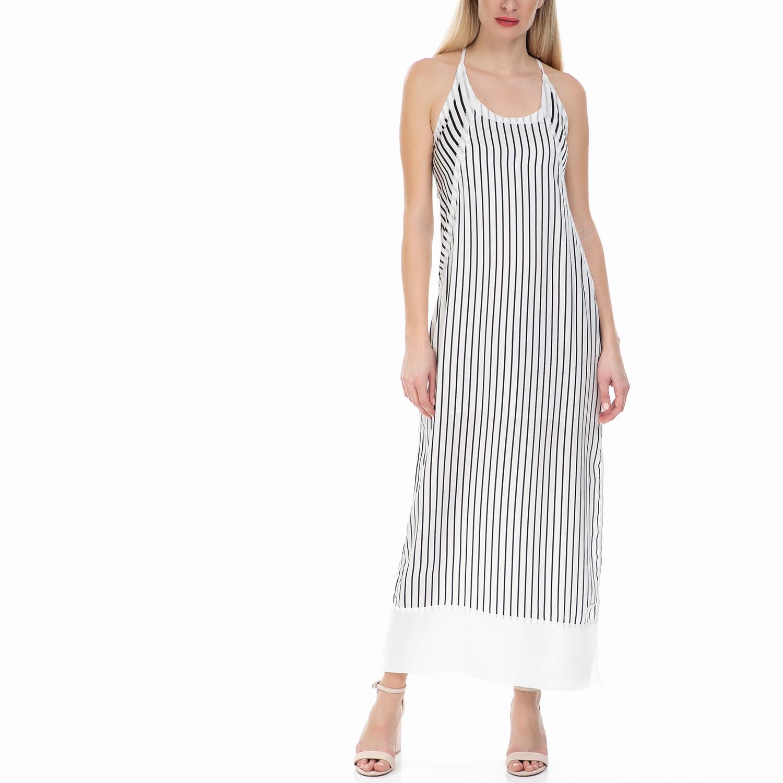 CALVIN KLEIN JEANS - Γυναικείο μάξι φόρεμα DEVON Calvin Klein Jeans ριγέ γυναικεία ρούχα φορέματα μάξι