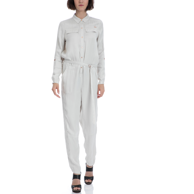 CALVIN KLEIN JEANS - Γυναικεία ολόσωμη φόρμα Calvin Klein Jeans γκρι γυναικεία ρούχα ολόσωμες φόρμες