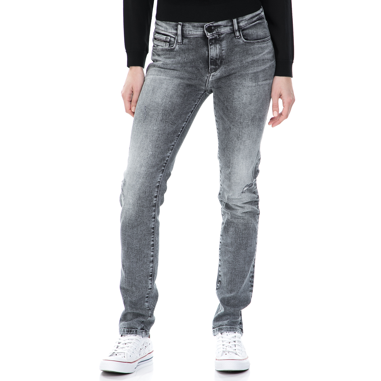CALVIN KLEIN JEANS - Γυναικείο mid rise slim τζιν παντελόνι Calvin Klein Jeans γ γυναικεία ρούχα τζίν skinny
