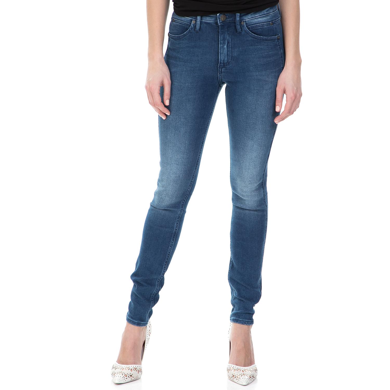 90021eda07c1 CALVIN KLEIN JEANS – Γυναικείο sculpted skinny τζιν παντελόνι Calvin Klein  Jeans μπλε