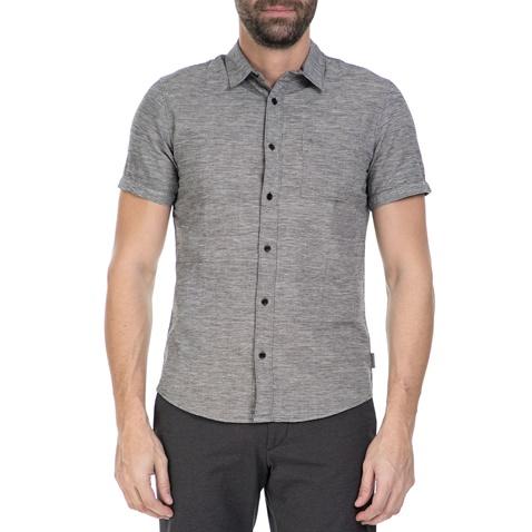 aaec4013d890 Ανδρικό κοντομάνικο πουκάμισο Calvin Klein Jeans γκρι (1523874.0-00g7)
